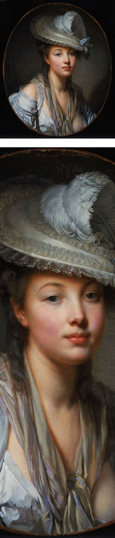 The White Hat, Jean-Baptiste Greuze