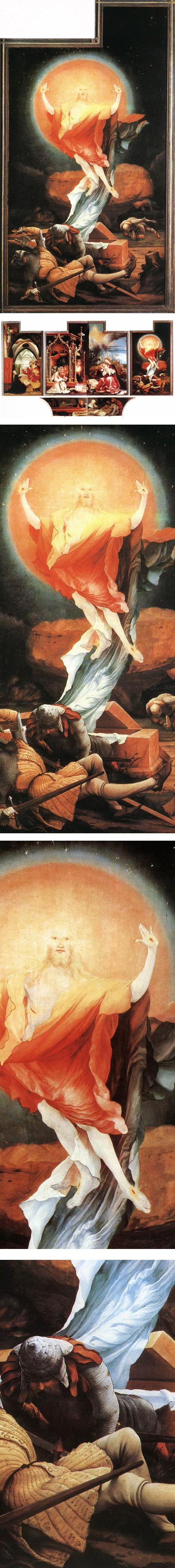 The Resurrection, from the Isenheim Altarpiece, Matthias Grunewald