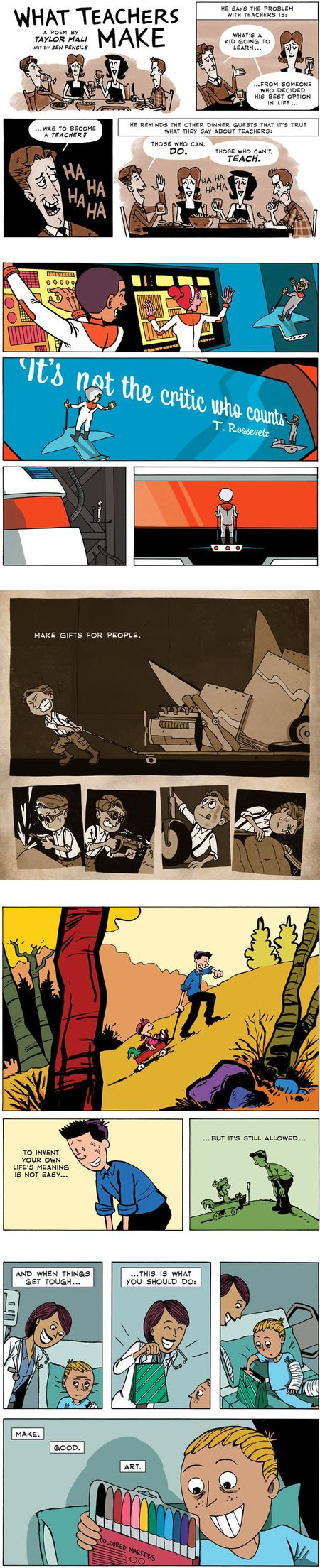 Zen Pencils (Gavin Aung Than)