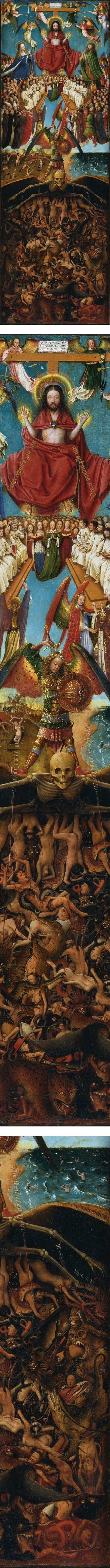 Jan van Eyck's The Last Judgement