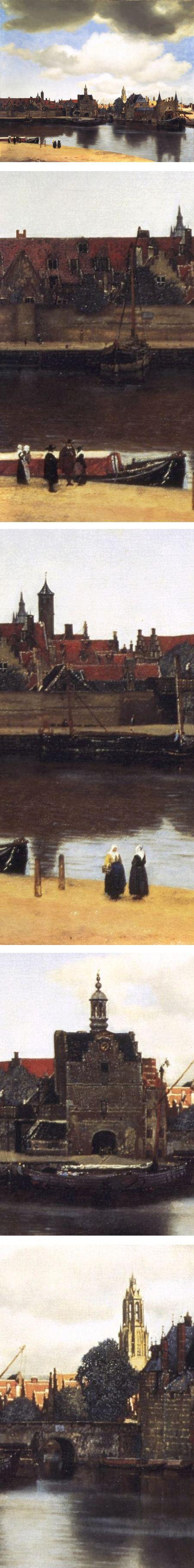 View of Delft, Johannes Vermeer