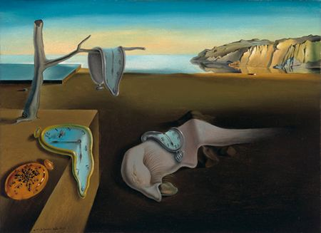 The Persistance of Memory, Salvador Dali