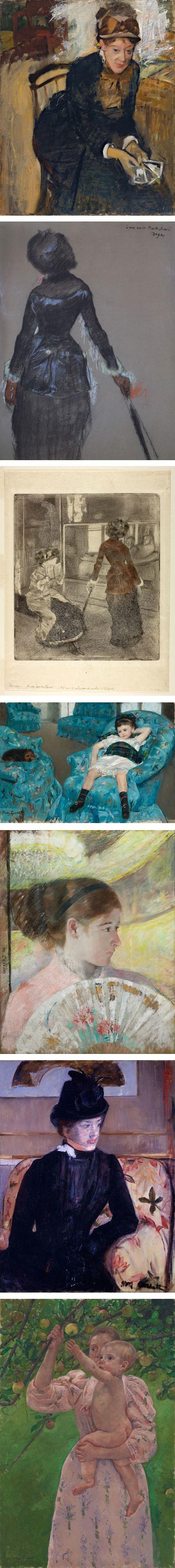 Edgar Degas, mary Cassatt
