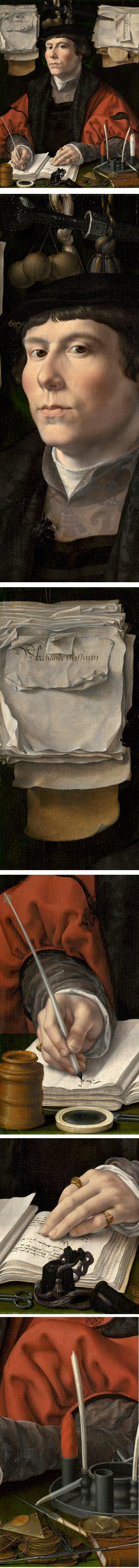 Portrait of a Merchant, Jan Gossaert