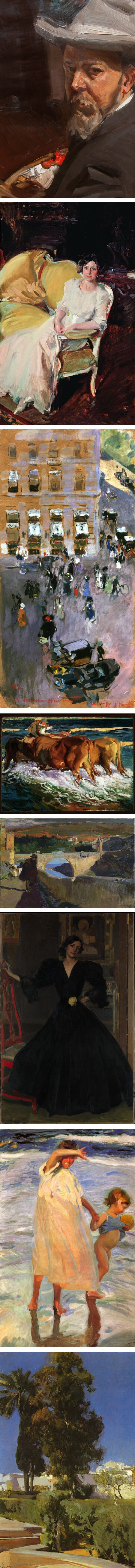 Joaquin Sorolla, Sorolla and AMerican at San Diego Museum of Art