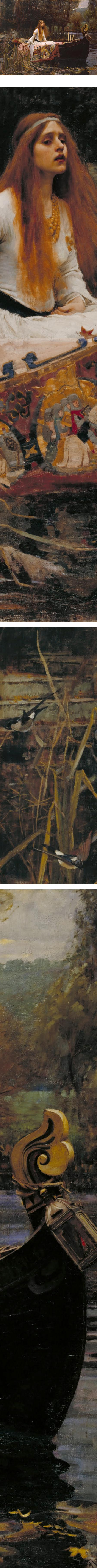 The Lady of Shalott, John William Waterhouse