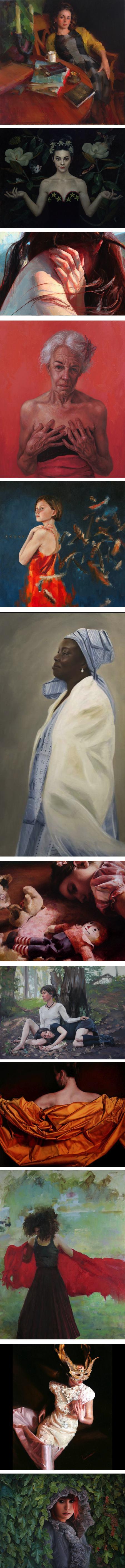 Women Painting Women at Principle Gallery, Charleston