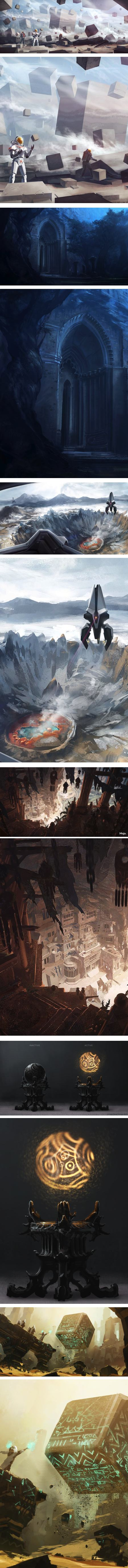 Joshua Eiten, concept art