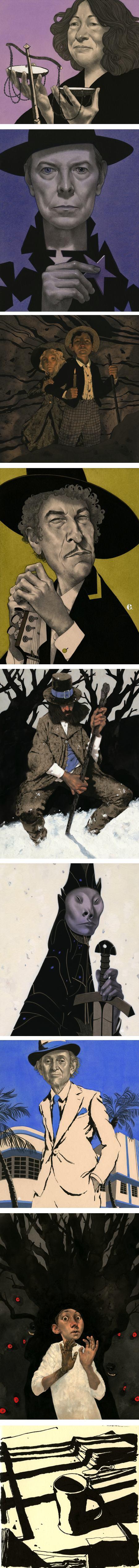 Edward Kinsella, illustration and portraits