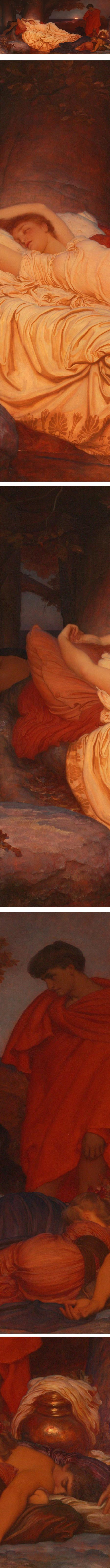 Cymon and Iphigenia, Lord Frederic Leighton