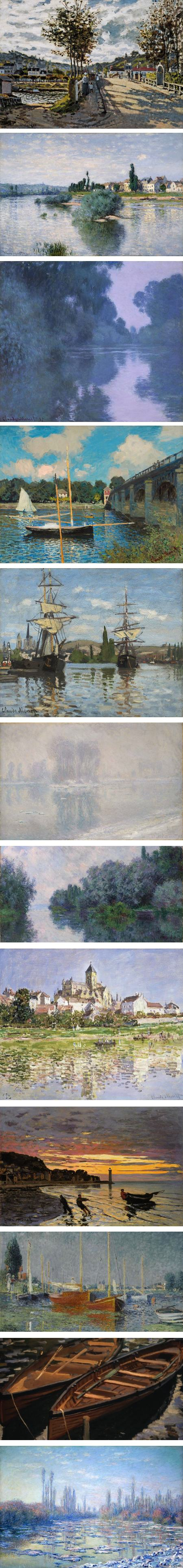 Monet and the Seine: Impressions of a River, MFA Houston
