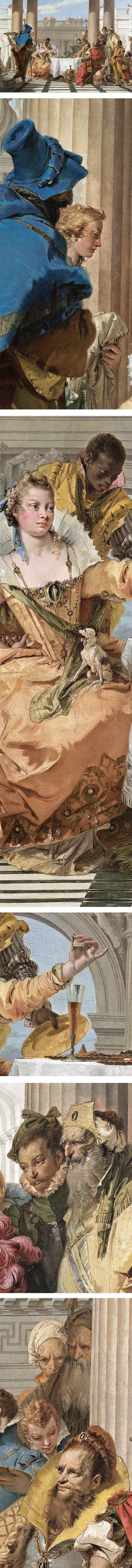 The Banquet of Cleopatra, Giambattista Tiepolo