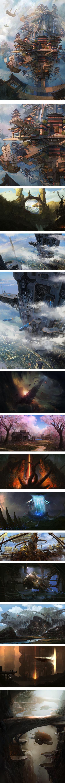Wan Bao concspt art
