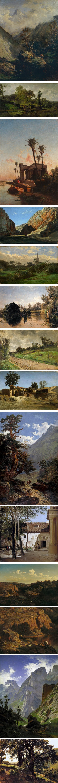 Carlos de Haes, Belgian Spanish landscape painter