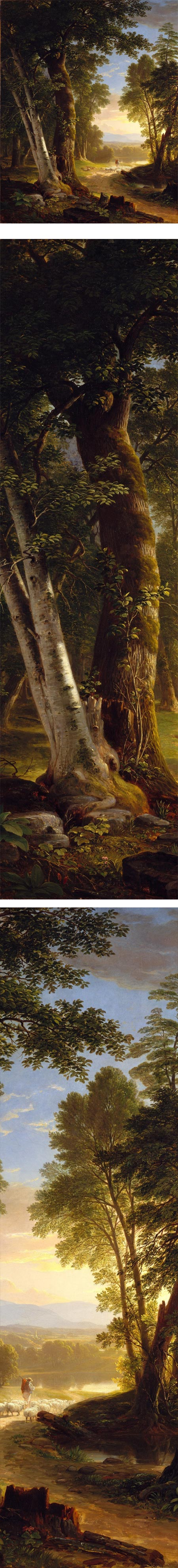 The Beeches, Asher Brown Durand
