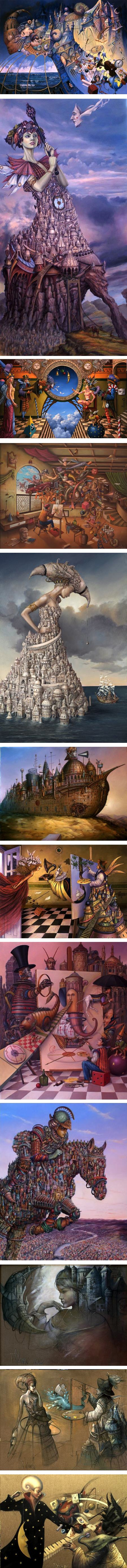 Tomek Setowski, magic realist painter
