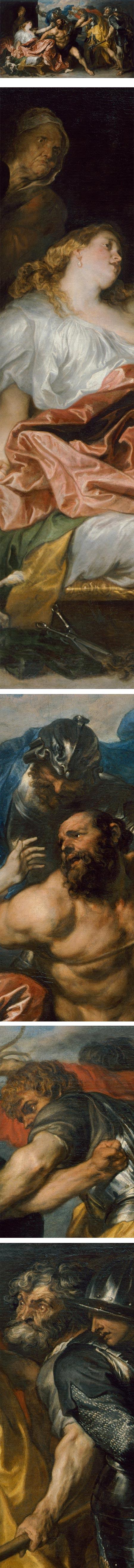 Samson and Delilah, Anton van Dyck