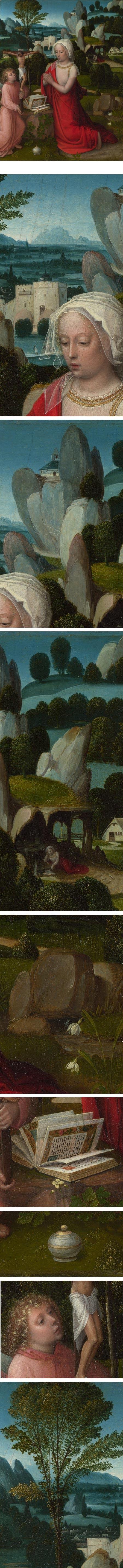 The Magdalen in a Landscape Adriaen Ysenbrandt