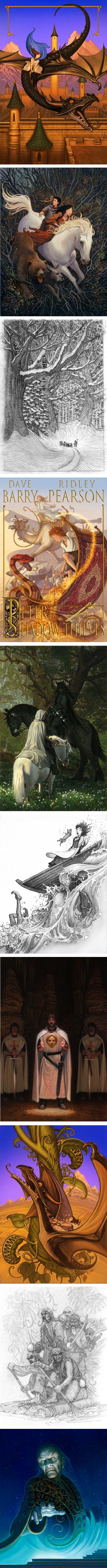 Greg Call, fantasy and adventure illustration