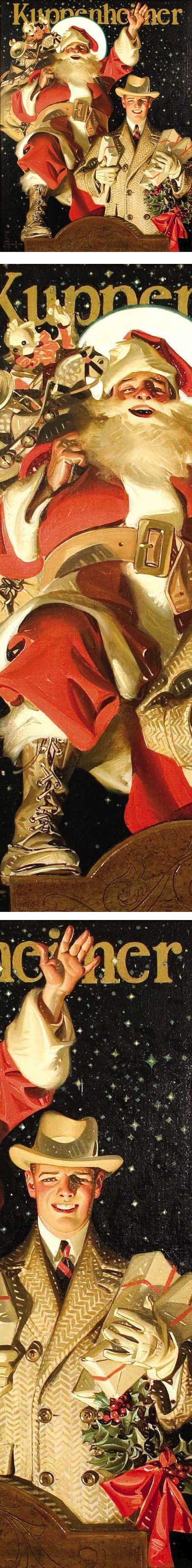 Leyendecker Santa Claus