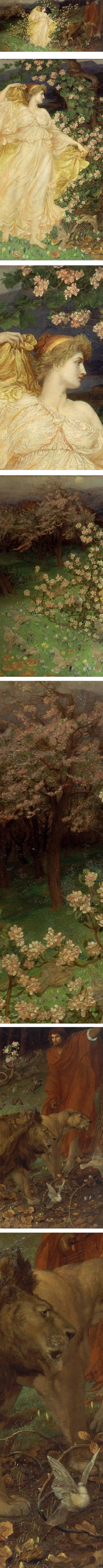 Venus and Anchises, William Blake Richmond