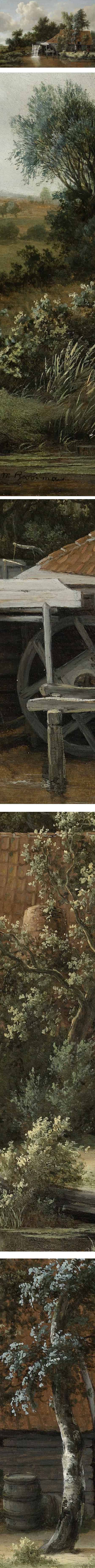 A Watermill, Meindert Hobbema