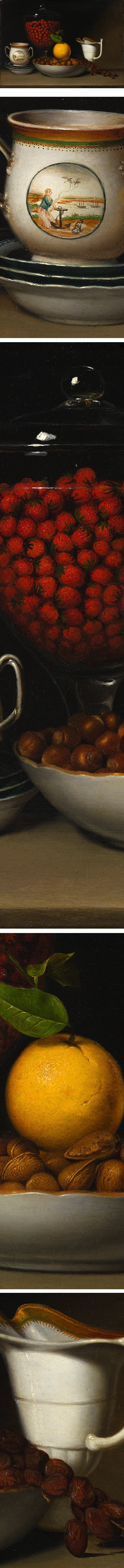 Still Life with Strawberries and Nuts, Raphaelle Peale