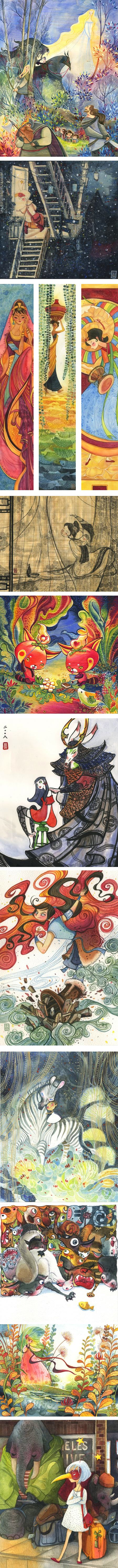 Alina Chau, illustration