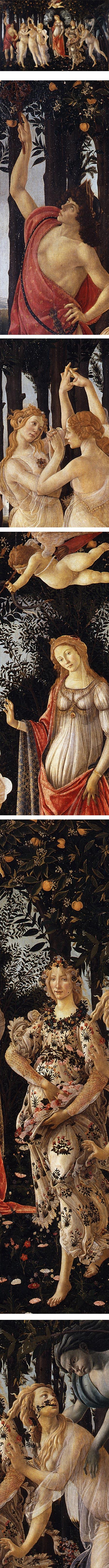 Primavera, Sandro Botticelli