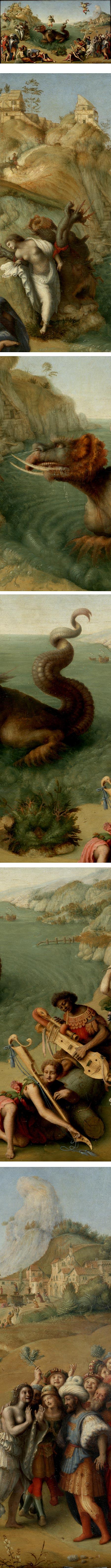 Andromeda fred by Perseus, Piero di Cosimo