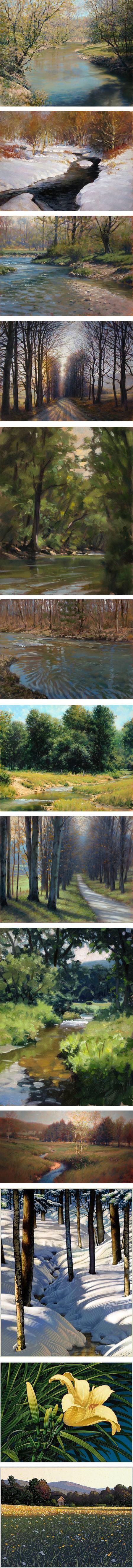 John MacDonald, landscapes