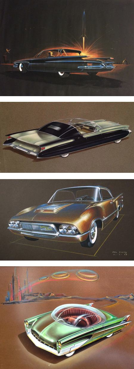American Dreaming documentary on mid 20th century American car design art
