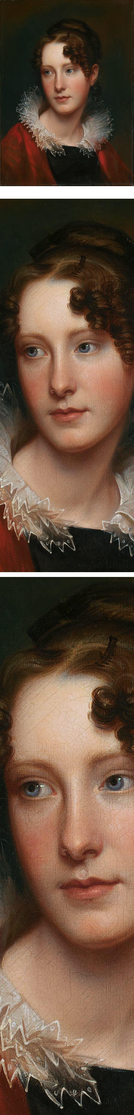Portrait of Rosalba Peale, Rembrandt Peale