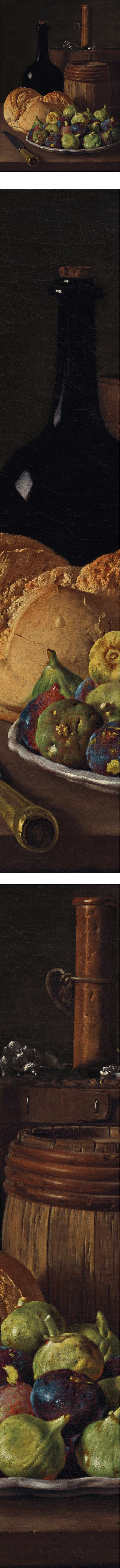 Still Life with Figs and Bread, Luis Melendez