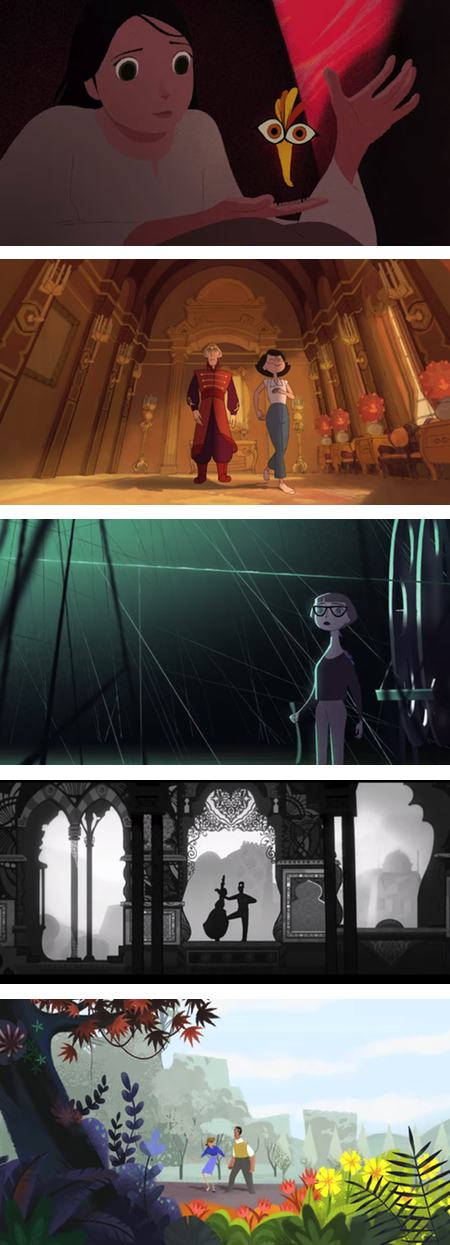 Gobelins students' animations for Annecy 2014
