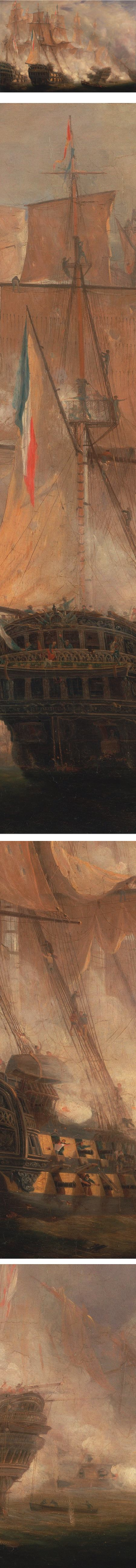 The Battle of Tragalgar, John Christian Schetky