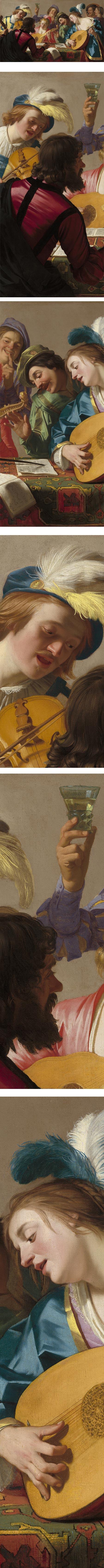 The Concert, Gerrit van Honthorst