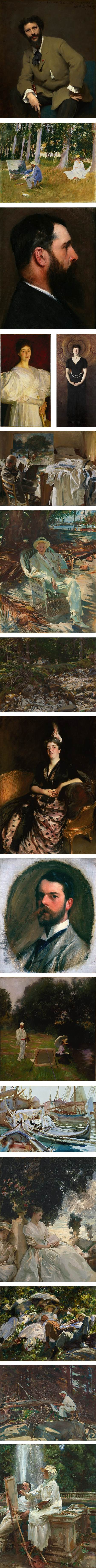 Sargent: Portraits of Artists and Friends, John Singer Sargent exhibition at the Metropolitan Museum of Art