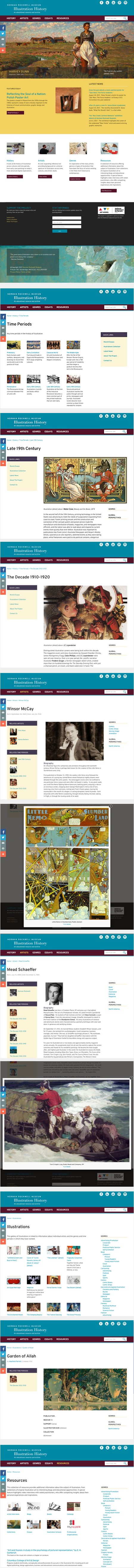 NRM Illustration History resource and archive