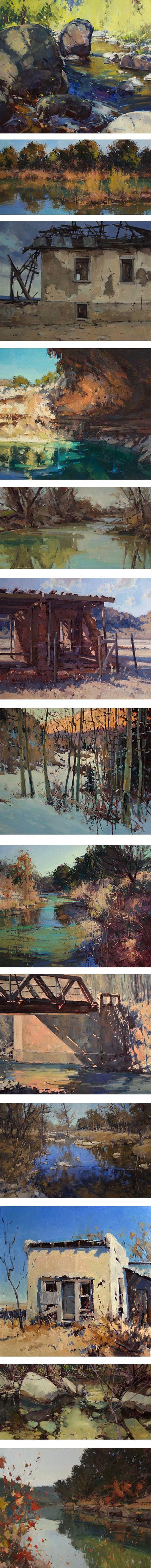 Jill CArver, landsape painting