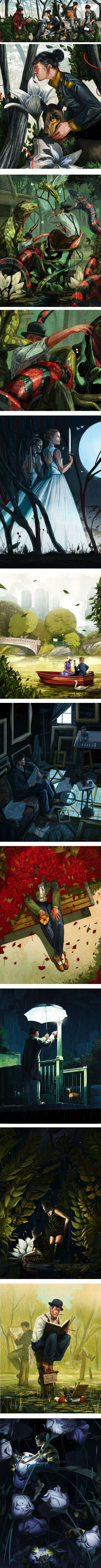 Jonathan Bartlett, illustration