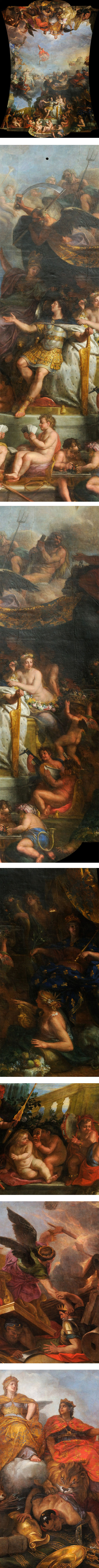 The King Governs by Himself, Charles Le Brun