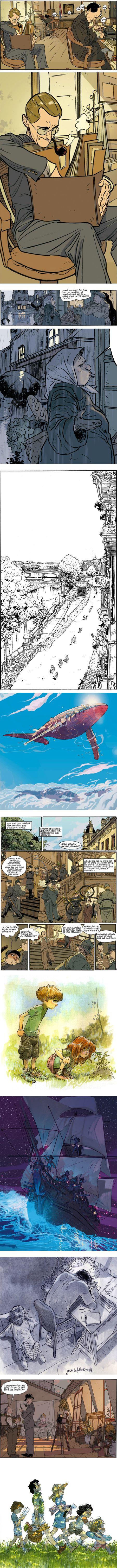 Jordi Lafebre, comics