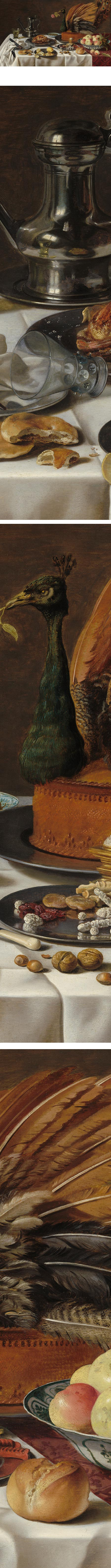 Still Life with Peacock Pie, Pieter Claesz