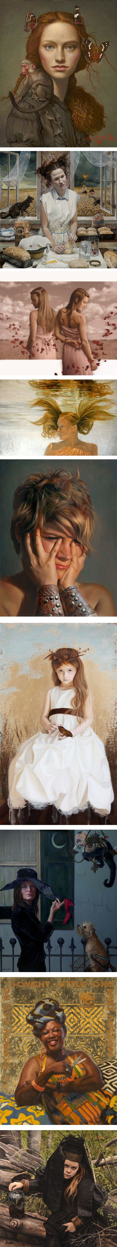 Women Painting Women, RJD Gallery 2015: Whalen, Rebecca Tait, Nancy Boren, Pamela Wilson