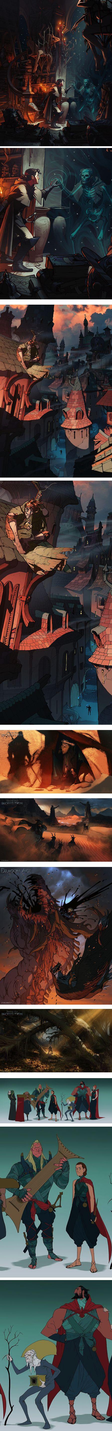 Matt Rhodes is lead concept artist on Dragon Age: Inquisition at Bioware