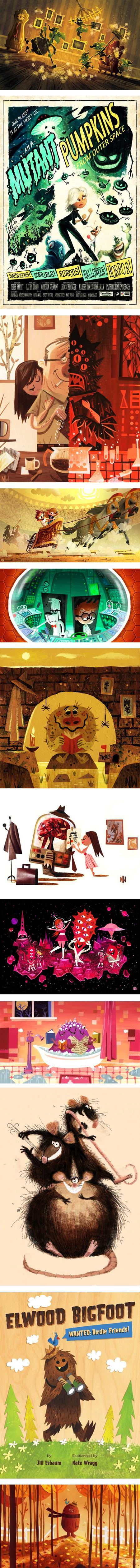 Nate Wragg, concept art, illustration
