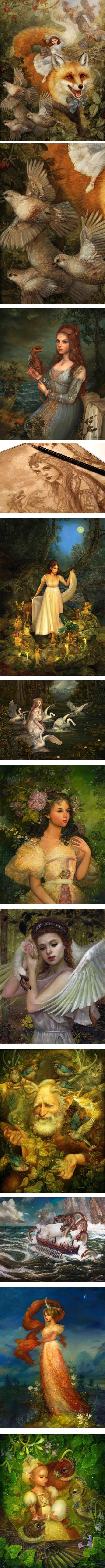 Annie Stegg, fantasy art and illustration