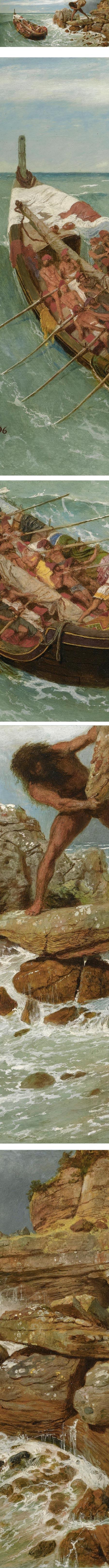 Odysseus and Polyphemus, Arnold Bocklin