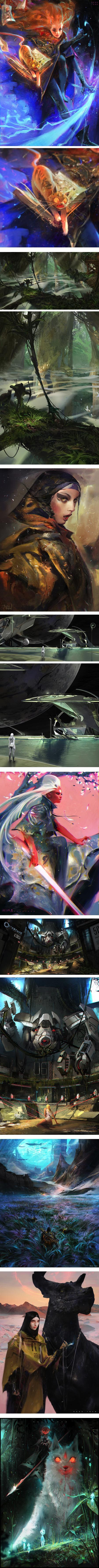 Ross Tran, concept art